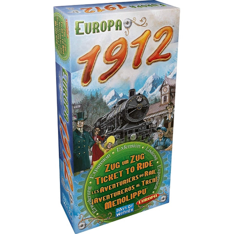Ticket to Ride: Europa 1912 Expansion [Board Game, 2-5 Players]