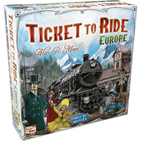 Ticket to Ride: Europe [Board Game, 2-5 Players]