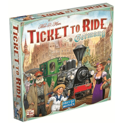 Ticket to Ride: Germany [Board Game, 2-5 Players]
