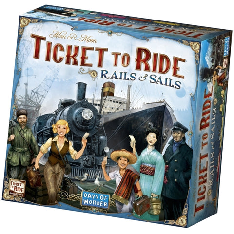 Ticket to Ride: Rails & Sails [Board Game, 2-5 Players]