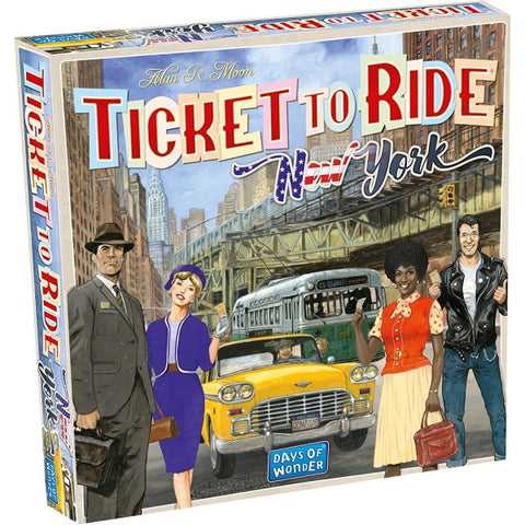 Ticket to Ride: New York [Board Game, 2-4 Players]