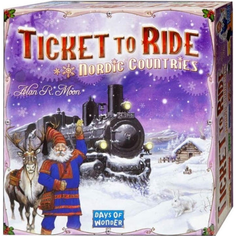 Ticket to Ride: Nordic Countries [Board Game, 2-3 Players]