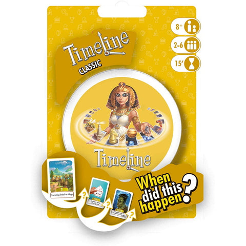 Timeline: Classic [Card Game, 2-6 Players]