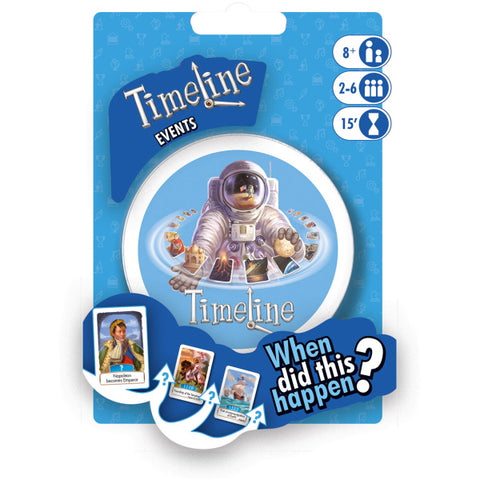 Timeline: Events [Card Game, 2-6 Players]