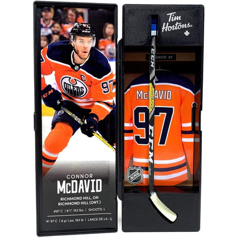 Tim Hortons NHL Superstar Mini-Sticks - Connor McDavid [Collectible]