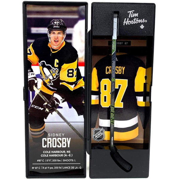 Tim Hortons NHL Superstar Mini-Sticks - Sidney Crosby [Collectible]