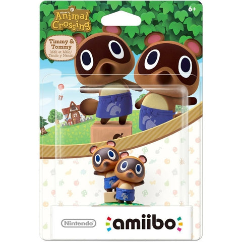 Timmy & Tommy Nook Amiibo - Animal Crossing Series [Nintendo Accessory]