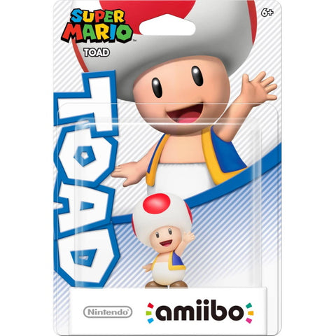 Toad Amiibo - Super Mario Series [Nintendo Accessory]