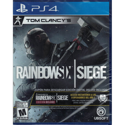 Tom Clancy's Rainbow Six Siege - Deluxe Edition [PlayStation 4]