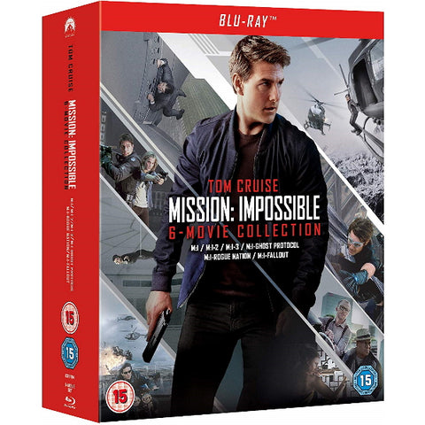 Tom Cruise Mission: Impossible 6-Movie Collection [Blu-Ray Box Set]