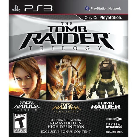 The Tomb Raider Trilogy [PlayStation 3]