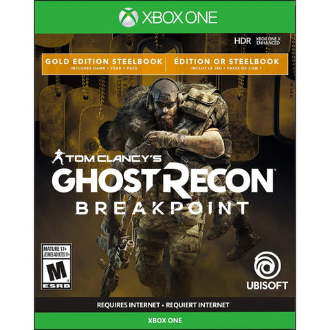 Tom Clancy's Ghost Recon: Breakpoint - Gold Edition SteelBook [Xbox One]
