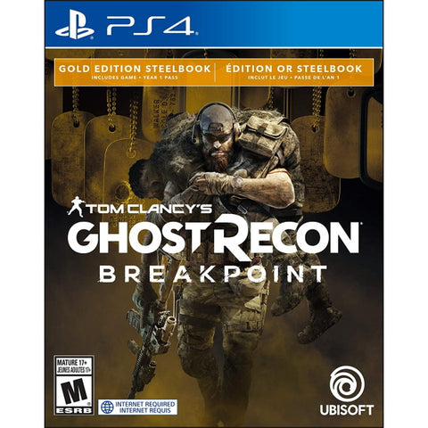 Tom Clancy's Ghost Recon: Breakpoint - Gold Edition SteelBook [PlayStation 4]