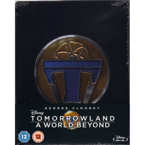 Tomorrowland: A World Beyond - Limited Edition SteelBook [Blu-ray]