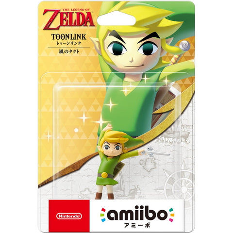 Toon Link (The Wind Waker) Amiibo - The Legend of Zelda Series [Nintendo Accessory]