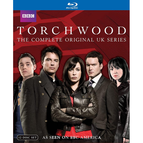 Torchwood: The Complete Original UK Series - Seasons 1-3 [Blu-Ray Box Set]