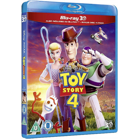Disney Pixar Toy Story 4 [3D + 2D Blu-ray]
