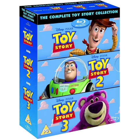 Disney Pixar Toy Story - The Complete Collection Trilogy [Blu-Ray Box Set]