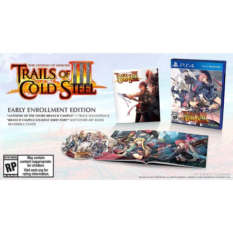 The Legend of Heroes: Trails of Cold Steel III [PlayStation 4]