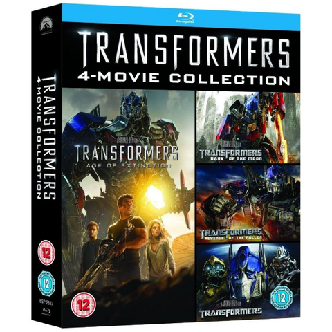 Transformers: 4-Movie Collection [Blu-Ray Box Set]
