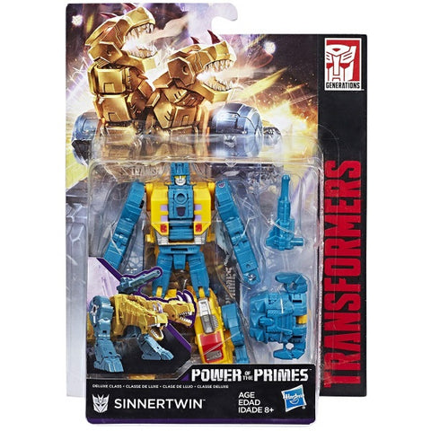 Transformers Generations: Power of the Primes - Deluxe Class Sinnertwin [Toys, Ages 8+]