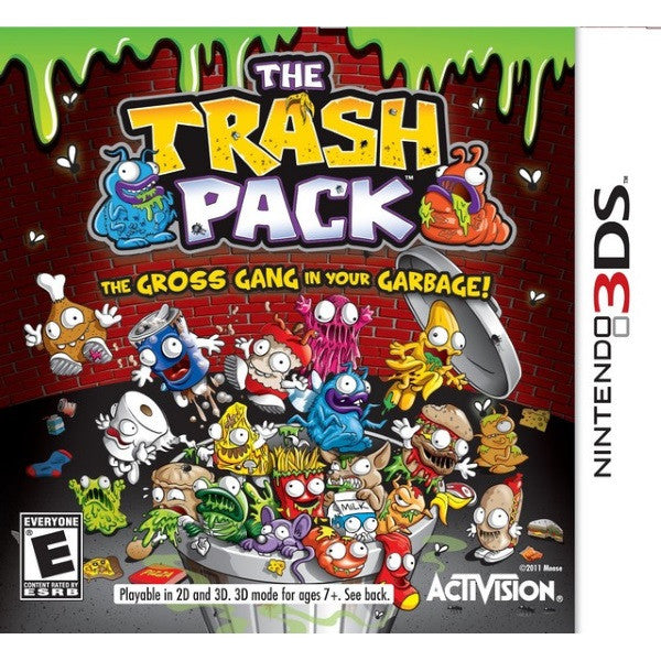 The Trash Pack: The Gross Gang in Your Garbage [Nintendo 3DS]