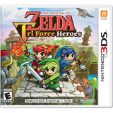 The Legend Of Zelda: TriForce Heroes [Nintendo 3DS]