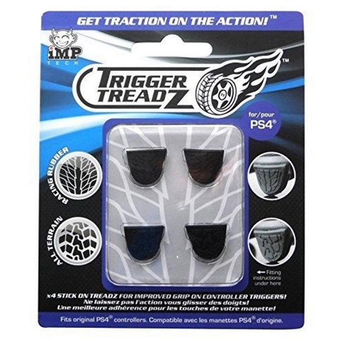Trigger Treadz Improved Controller Thumb Grips 4-Pack [PlayStation 4 Accessory]