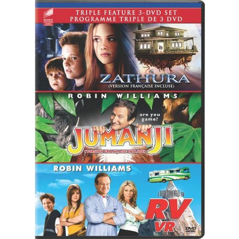 Triple Feature: Zathura / Jumanji / RV [DVD Box Set]