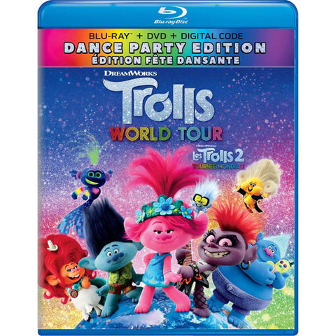 Trolls World Tour: Dance Party Edition [Blu-ray + DVD + Digital]
