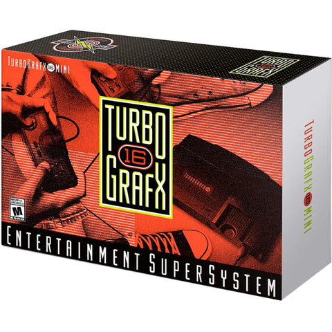 TurboGrafx-16 Mini - Entertainment Super System [Retro System]