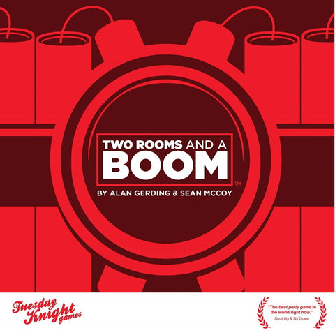 Two Rooms and a Boom [Card Game, 6-30 Players]