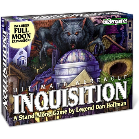Ultimate Werewolf: Inquisition - Includes Full Moon Expansion [Board Game, 3-12 Players]