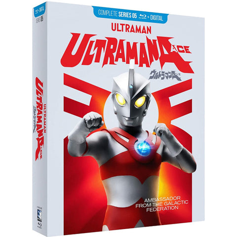 Ultraman Ace: The Complete Series [Blu-Ray Box Set + Digital]