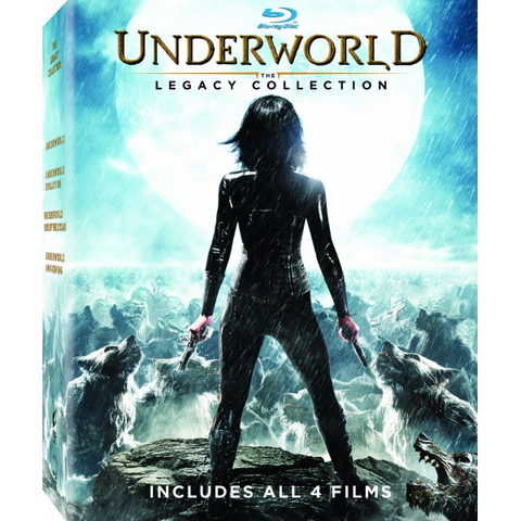 Underworld: The Legacy Collection [Blu-Ray Box Set]