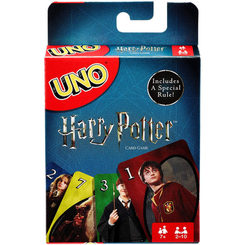 Uno: Harry Potter Edition [Card Game, 2-10 Players, Ages 7+]