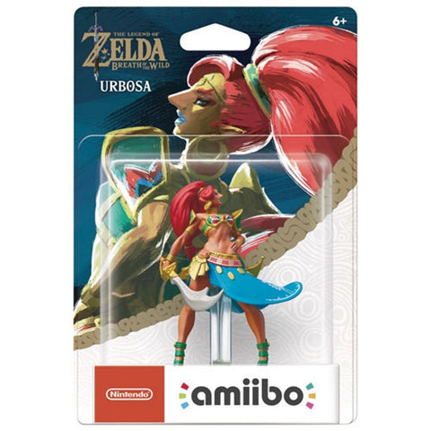 Urbosa Amiibo - The Legend of Zelda: Breath of the Wild Series [Nintendo Accessory]