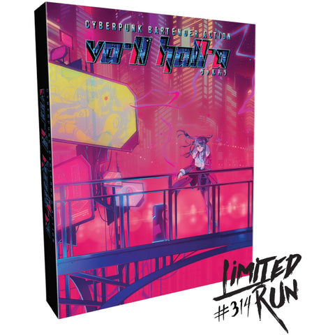VA-11 Hall-A: Cyberpunk Bartender Action - Collector's Edition - Limited Run #314 [PlayStation 4]