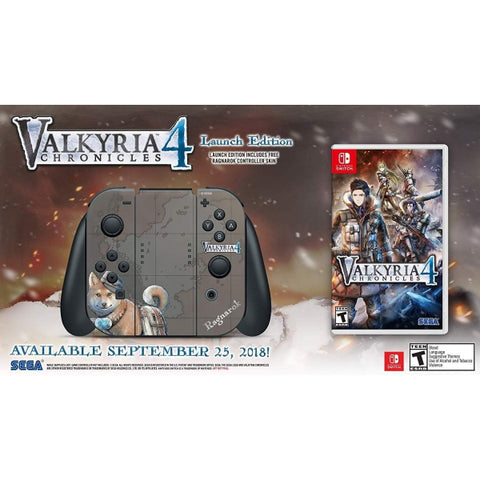 Valkyria Chronicles 4: Launch Edition [Nintendo Switch]