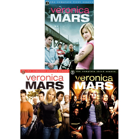 Veronica Mars - The Complete Series - Seasons 1-3 [DVD Box Set]
