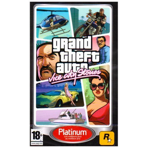 Grand Theft Auto: Vice City Stories [Sony PSP]