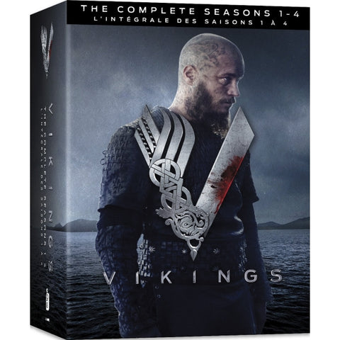 Vikings: The Complete Seasons 1-4 [DVD Box Set]