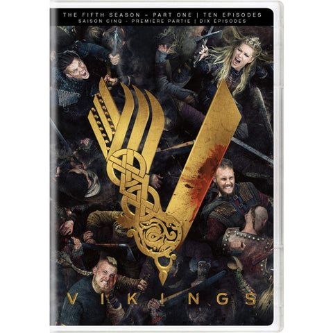 Vikings: The Fifth Season - Part One [DVD Box Set]