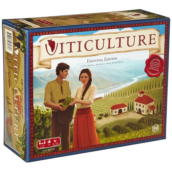 Viticulture - Essential Edition [Board Game, 1-6 Players]