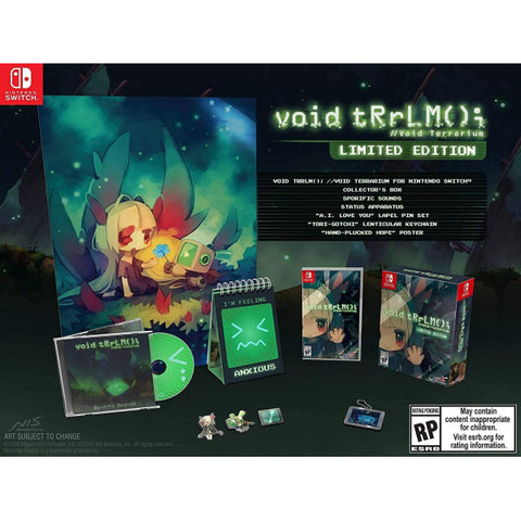 void tRrLM(); //Void Terrarium - Limited Edition [Nintendo Switch]