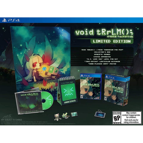 void tRrLM(); //Void Terrarium - Limited Edition [PlayStation 4]