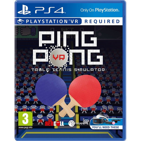 Ping Pong VR - Table Tennis Simulator - PSVR [PlayStation 4]