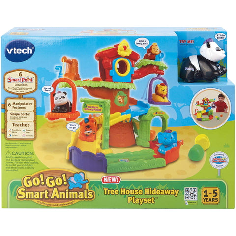 VTech Go! Go! Smart Animals: Tree House Hideaway Playset [Toys, Ages 1-5]