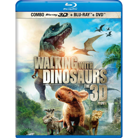 Walking With Dinosaurs: The 3D Movie [3D + 2D Blu-ray + DVD]