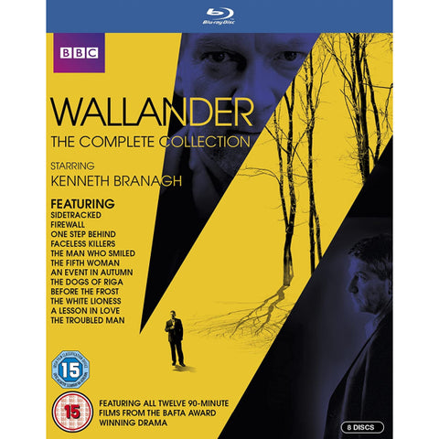 Wallander: The Complete Collection - Seasons 1-4 [Blu-Ray Box Set]